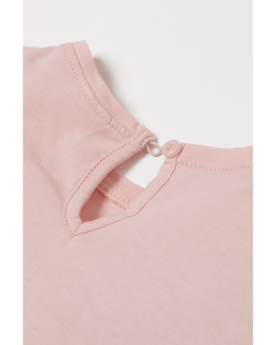 H&M 2-piece Printed Set Light Pink/rabbits
