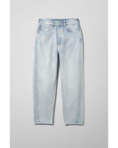Meg High Mom Jeans Morning Blue