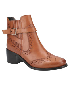 Hush Puppies Womens/ladies Rayleigh Leather Ankle Boots