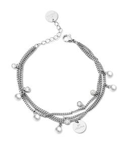 Liz Multicharm Bracelet Silver