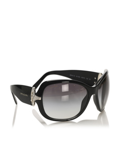 Bvlgari Square Tinted Sunglasses Black