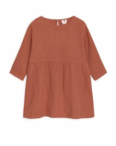 Oversized Dress Dusty Terracotta