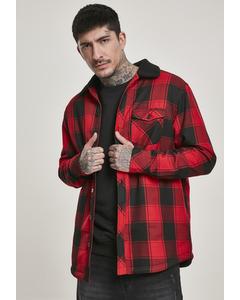 Herren Sherpa Lined Shirt Jacket
