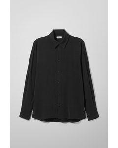 Pablito Structure Shirt Black