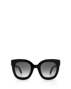 Gg0208s Black Solglasögon