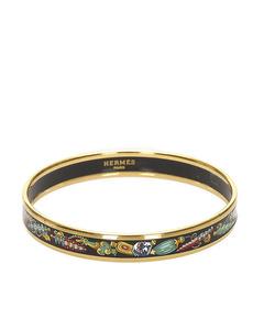 Hermes Cloisonne Bangle Multi