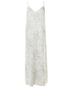 Bedrucktes Slip-Kleid