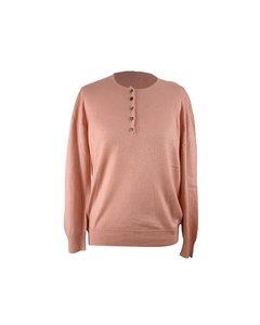 Maria Di Ripabianca Vintage Pink Cashmere Jumper Size 44 It