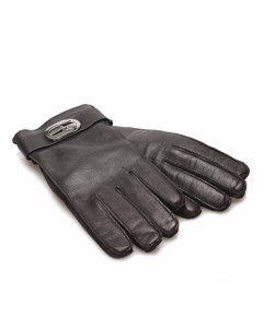 Gucci Leather Gloves Black