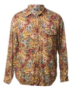 1990s Petites Floral Shirt