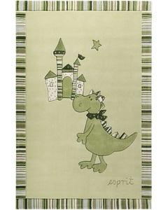 Teppich Dragon & castle