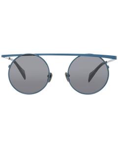 Yohji Yamamoto Mint Unisex Blue Sunglasses Yy7038 49616 49-21-140 Mm