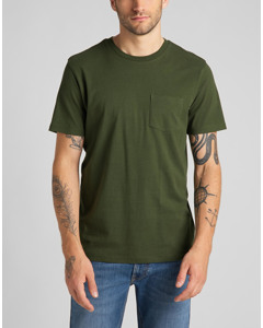 Pocket Tee Winter Green