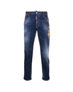 Dsquared2 Icon Skater Jeans Blau