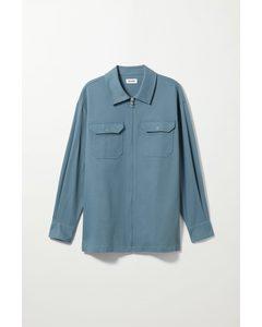 Dennis Oversized Overshirt Blue