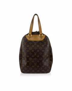 Louis Vuitton Brown Monogram Canvas Excursion Shoe Travel Bag