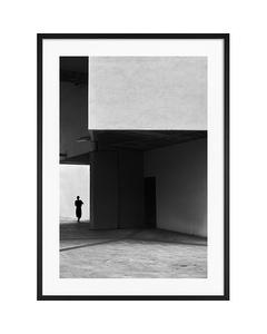 Poster Kubistisk Byggnad