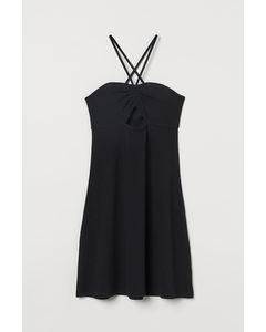 Kurzes Kleid Schwarz