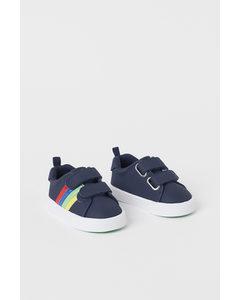 Sneakers Marineblauw/strepen