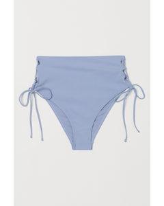 Bikinihose Brazilian Blau