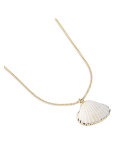 Glam Shell Necklace