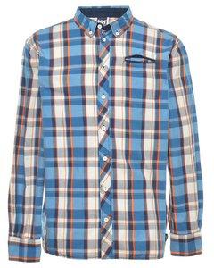 Blue Helly Hansen Plaid Shirt