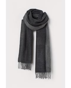 Scarf Wolf Solid Black