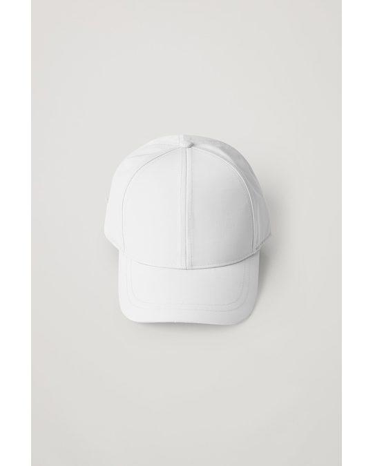 COS BASEBALL-KAPPE Weiß