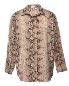 Snakeskin Bill Blass Shirt