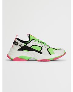 Gradually Sneaker Green Multi