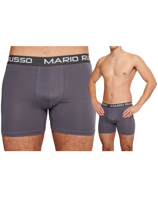 MARIO RUSSO Mario Russo 10-pack Basic Boxers Blue