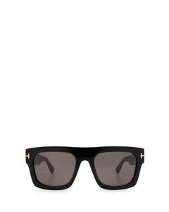 Ft0711 Shiny Black Solglasögon