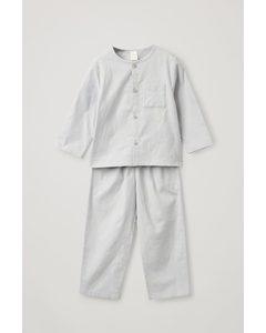 Glow-in-the-dark Pyjama Set Grey