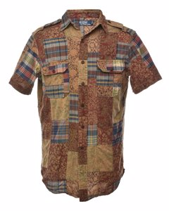 1990s Ralph Lauren Short Sleeved Shirt