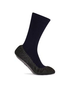 Cosy Feet 1 Paar Pantoffel Sokken Blau