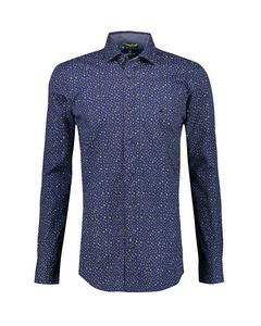 Bedrukt Stretch Overhemd