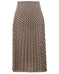 Medium Pleated Skirt With Print