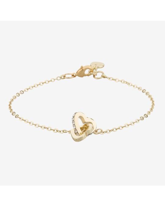 SNÖ of Sweden Connected Chain Bracelet Heart