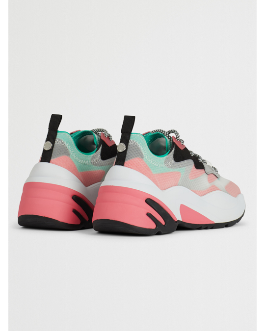 Steve Madden Charged Sneaker Red Multi