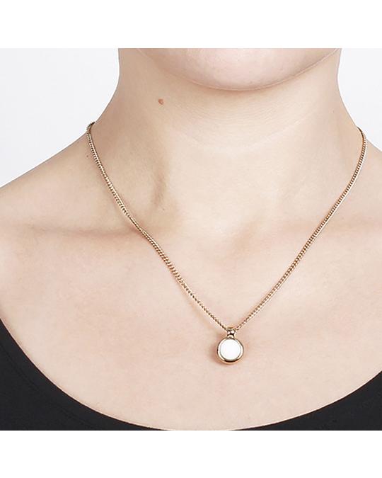 Dyrberg/Kern Lone Sg White Jade Gold