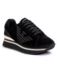 Sneakers Flats Svart