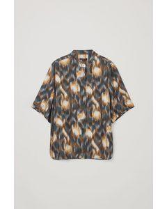 Relaxed Short-sleeve Shirt Multicoloured