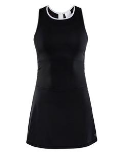 Breakaway Jersey Dress W - Black/white-black-s