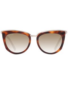 Dsquared2 Mint Women Brown Sunglasses Dq0290 5252p 52-18-142 Mm