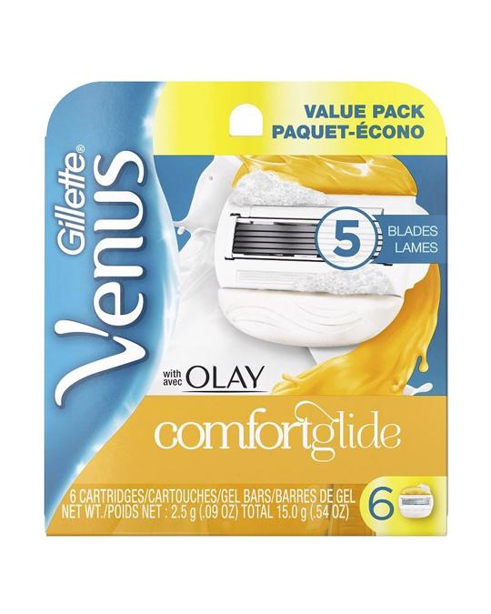 Gillette Gillette Venus With Olay Comfortglide Blades 6-pack