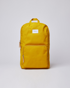Kim Yellow With Natural Leather