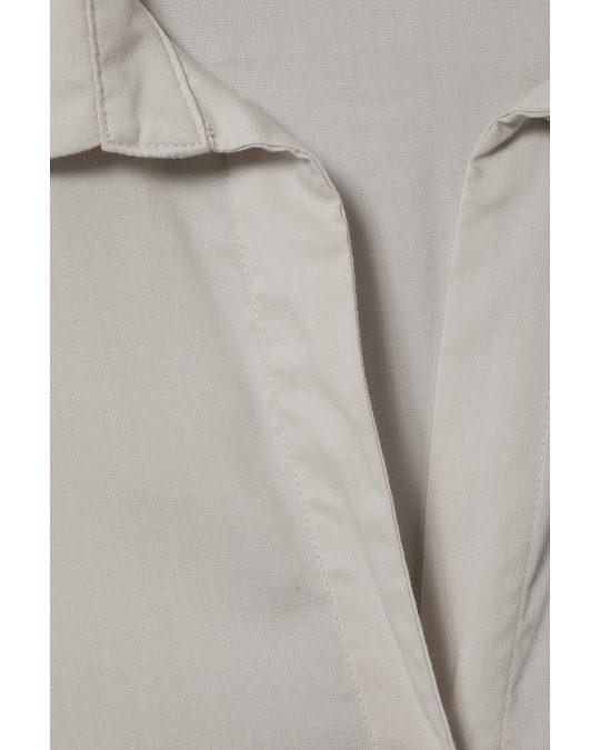Weekday Aida Shirt Beige