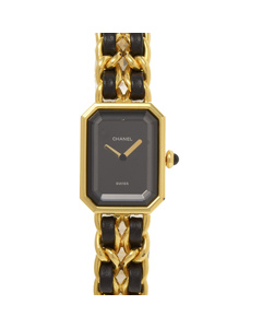 Chanel Premiere Chaine Watch Black