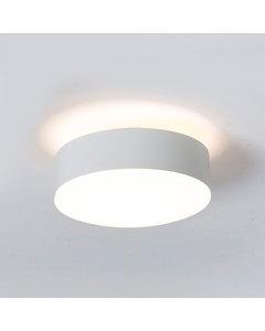 Reliëf Wit Gelakte Stalen Plafondlamp