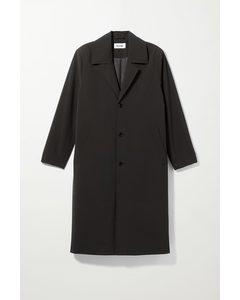 Austin Oversized Coat Black